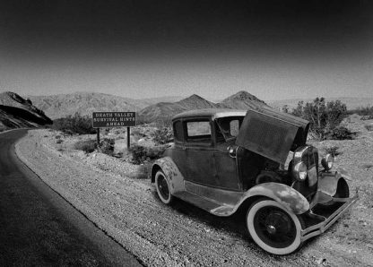 1932 ford death valley card