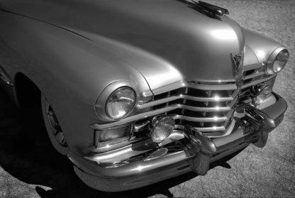 1947 cadillac gold bw