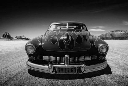 1949 mercury flamed