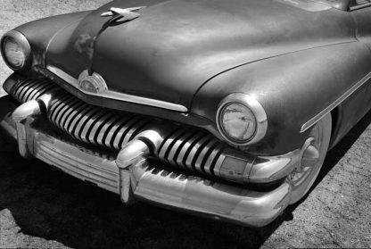 1951 mercury rusty bw