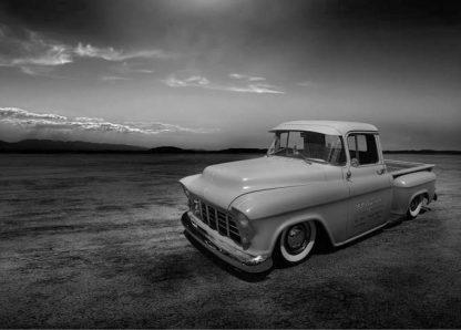 1955 chevrolet truck desert card