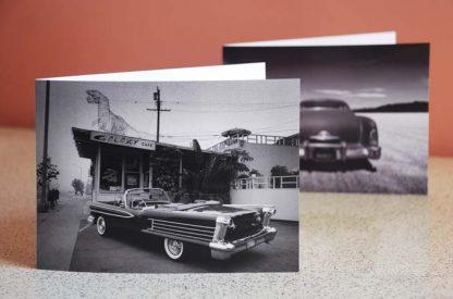 1958 oldsmobile galaxy card